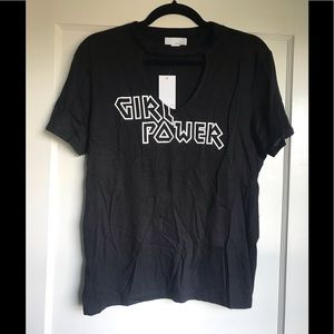 "NWT ""Girl Power"" Choker Tee"